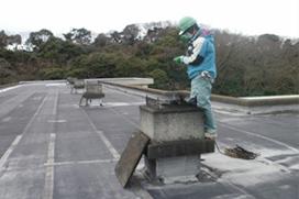 屋上作業箇所